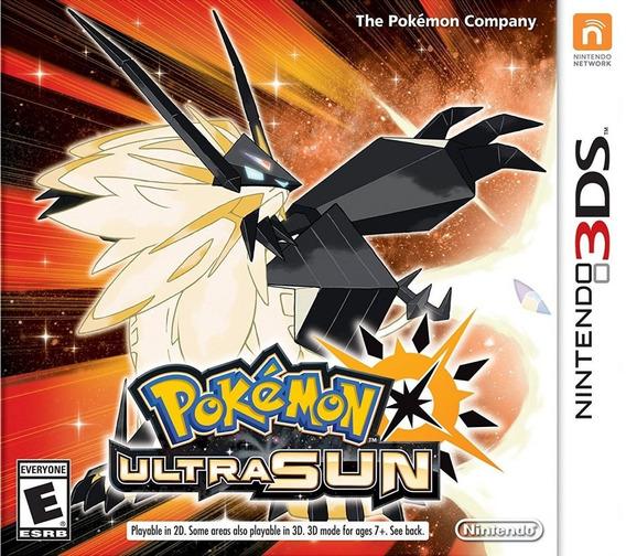 Pokemon Ultra Sun 3ds Mídia Física Lacrado