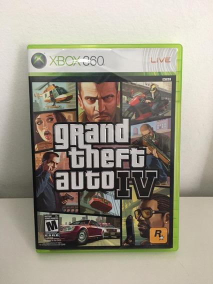 Jogo Xbox 360 Grand Theft Auto Iv - Gta 4 - Usado - Completo