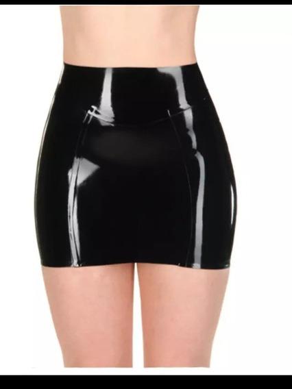 Ropa De Látex - Minifalda