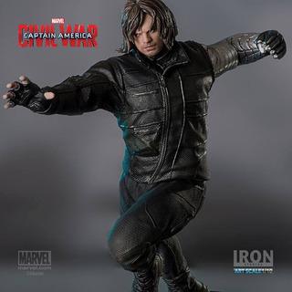 Iron Studios Captain America: Civil War Winter Soldier