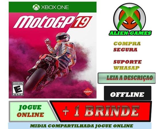 Moto Gp 2019 Xbox One Midia Digital Moto Gp19 + Brinde
