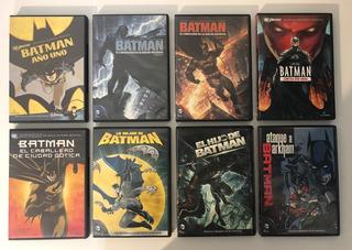 Batman Colección De Películas Animadas En Dvd.