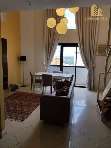 Loft Com 1 Dormitório À Venda, 77 M² Por R$ 480.000,00 - Jardim Aquarius - São José Dos Campos/sp - Lf0001
