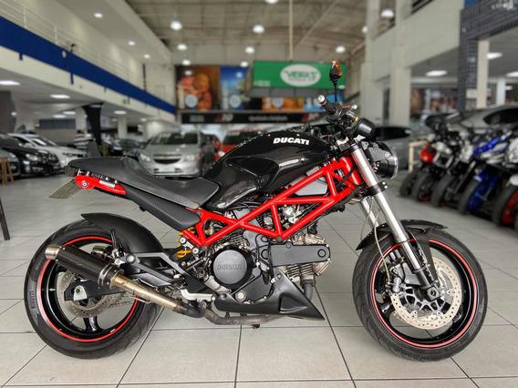 Ducati Monster Ano 2007 Moto Impecavel Apenas 10 Mil Km