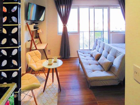 Apartamento Para Aluguel - Centro, 1 Quarto, 34 - 893056750