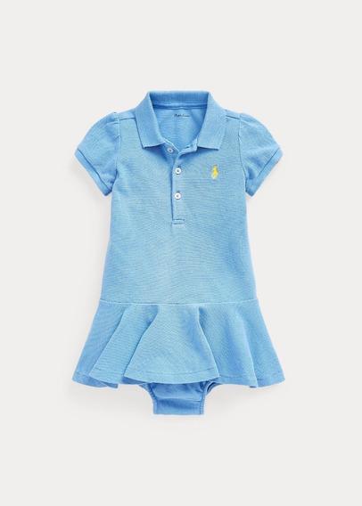 Vestido Polo Ralph Lauren Original - Azul