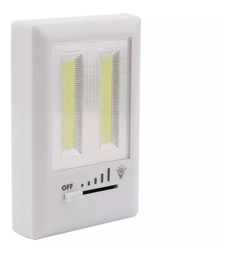 Kit 5 Luminária Led Interruptor De Tomada Portatil S/ Fio