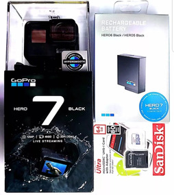 Gopro Hero 7 Black Camera Filmadora Chdhx-701 +bateria+64gb