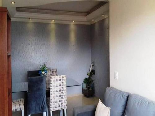 Apartamento Com 2 Dormitórios À Venda, 60 M² Por R$ 328.000 - Jardim Patente Novo - São Paulo/sp - Ap0218 - 67722253