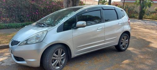Imagem 1 de 9 de Honda Fit 1.5 Ex 2012 Automático Cor Prata Com 105.000 Km