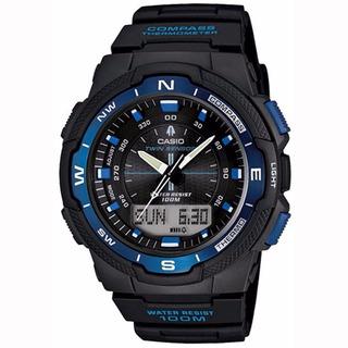 Reloj Casio Sgw-500h-2b Brujula Local Barrio Belgrano