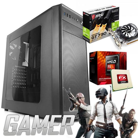 Computador Gamer Amd Fx-6300 ; Hd 1tb ; Mem 4gb ; Gt 730 2gb