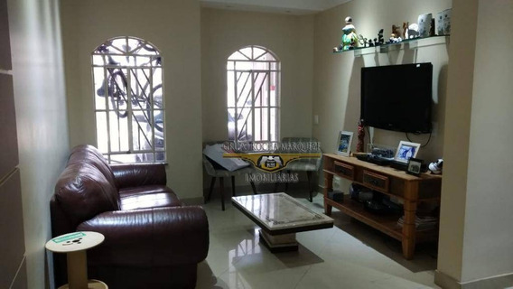 Sobrado Com 3 Dormitórios À Venda, 125 M² Por R$ 550.000,00 - Jardim Vila Formosa - São Paulo/sp - So1330