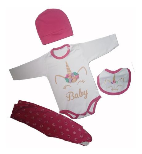 Ajuar De Bebe Unicornio Ropa Para Bebés