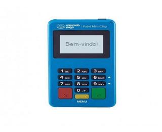 Point Mini Chip - Maquininha De Cartão Do Mercado Pago Wi-fi & Chip - Não Precisa De Celular