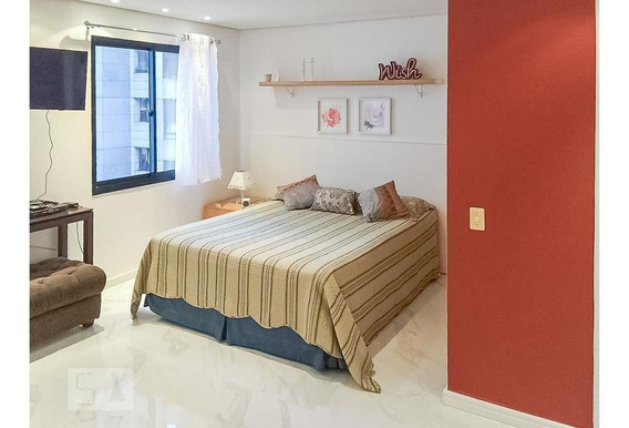 Apartamento Para Aluguel - Moema, 1 Quarto, 37 - 893069597