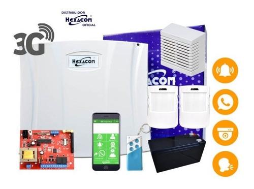 Alarma Inalámbrica Gsm Acuda H210, Kit Listo Para Instalar