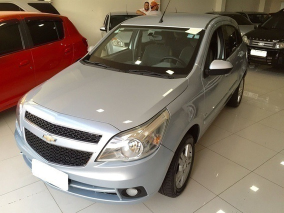 Chevrolet Agile Ltz 1.4 Prata 8v Flex 4p Manual 2012