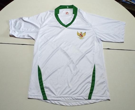 Camiseta De Indonesia Marca Seven Stars Blanca