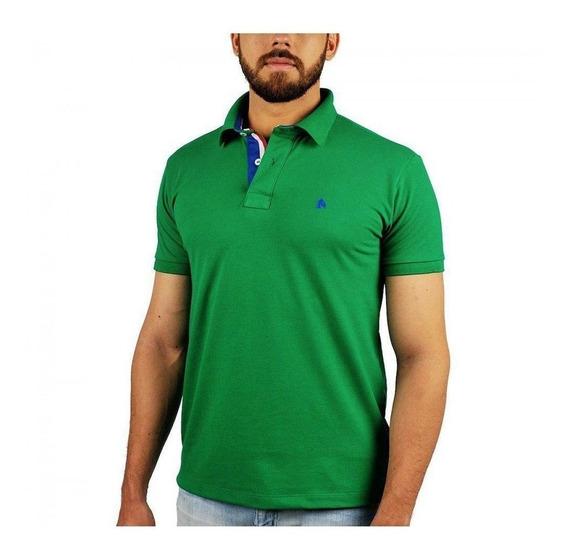 Camisa Polo Bf///ms Verde Bandeira