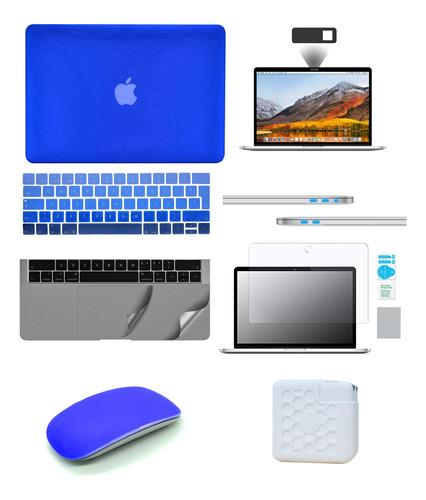 Kit Carcasa Case Premium 8 En 1 Macbook Air Pro Retina Touch