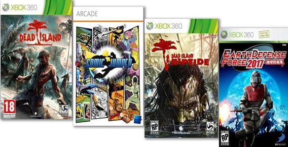 Dead Island +4 Jogos Mídia Digital Xbox 360