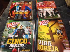 Coleção Revistas Placar 2006-2010