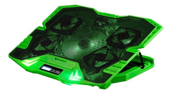 Cooler Fan Gamer 5 Fans Led Verde 3000rpm Multilaser Ac292