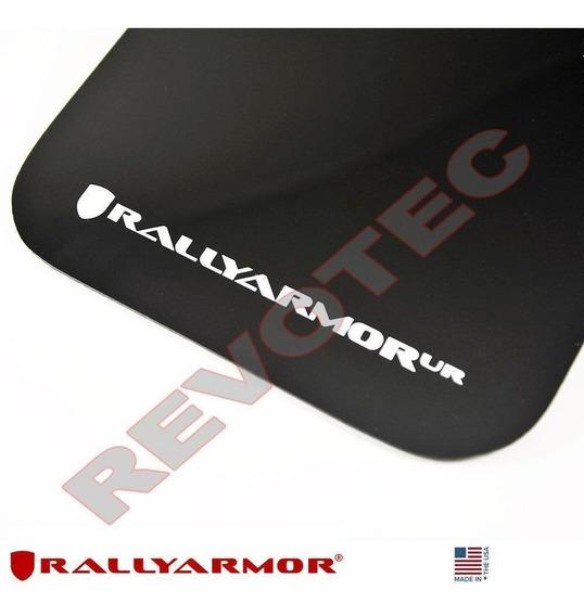 Rally Armor Black Mud Flap w// White Logo For 04-09 Mazda3 MazdaSpeed3