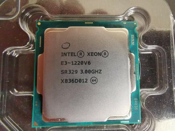 Processador Intel Xeon Sr329 E3-1220v6 3.00ghz 8mb