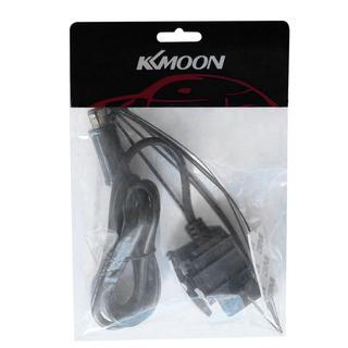 KKmoon Cable de Arranque para Bater/ía de Coche 150A 4 metros