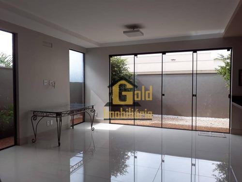 Casa Com 3 Dormitórios À Venda, 204 M² Por R$ 890.000,00 - (l-10) - Ribeirão Preto/sp - Ca0974