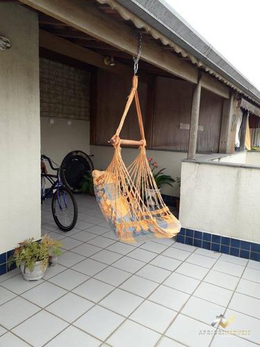 Cobertura Com 2 Dormitórios À Venda, 102 M² Por R$ 339.000,00 - Vila Pires - Santo André/sp - Co0700