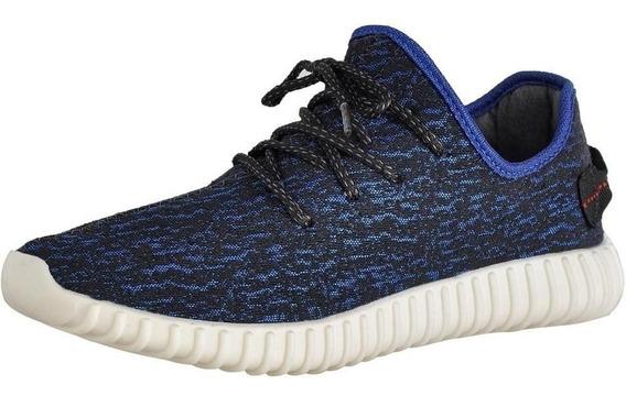 Tênis Sneaker Calce Fácil Sola Borracha Running Dia A Dia