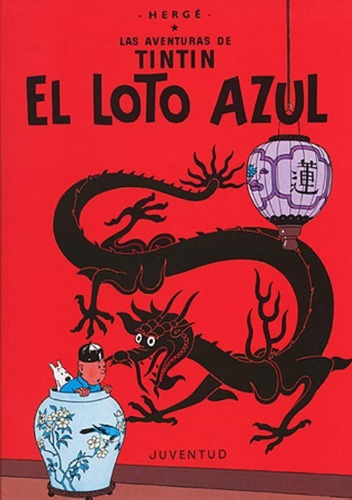 El Loto Azul - Tintín, Hergé, Juventud
