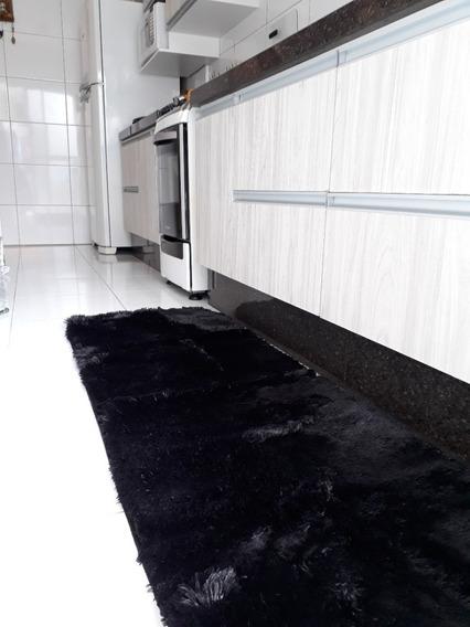 Tapete Peludo Passadeira Para Cozinha Sala Quarto 1,50x0,60
