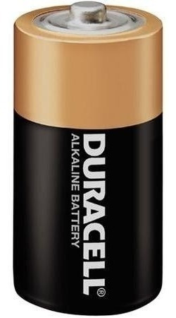 Kit 2 Pilha Duracell Alcalina Media C Original