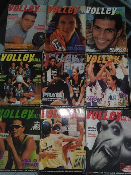 Revistas Volleyball Ano 1 Raridade Coleção Números 7,8,9,11