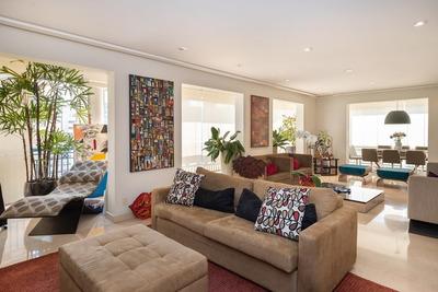 Apartamento Em Brooklin, São Paulo/sp De 238m² 4 Quartos À Venda Por R$ 3.480.000,00 - Ap174172