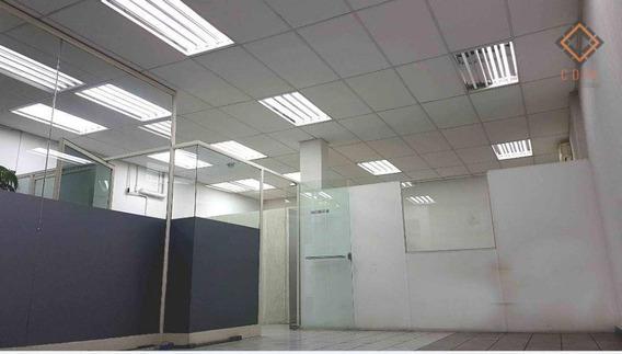 Sala Comercial 120 M², Recepção, Salas 1 E 2, Diretoria, Wc Privativo, 2 Wc,s, Copa, Pacote R$ 4.954,00 - Sa0034