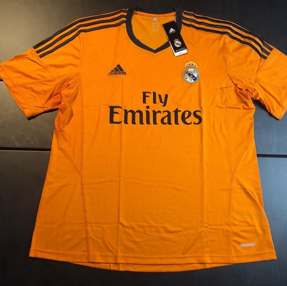 Camisa Real Madrid 2013-2014 Third Tam Gg (75x60) Nova