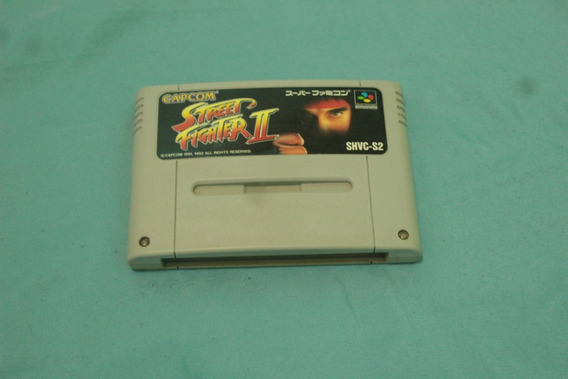 Street Fighter 2 Original Super Nintendo Jpn Snes Cod-001