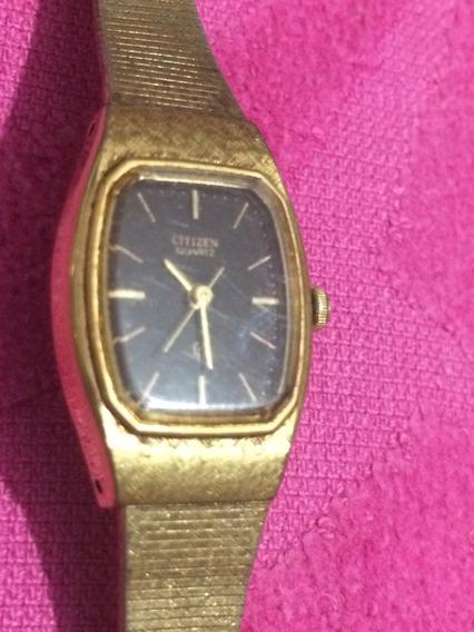 Relógio Citizen Feminino Antigo - Funcionando