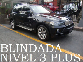 Bmw X5 V8 2010 Blindada Nivel 3 Plus Blindaje Blindados