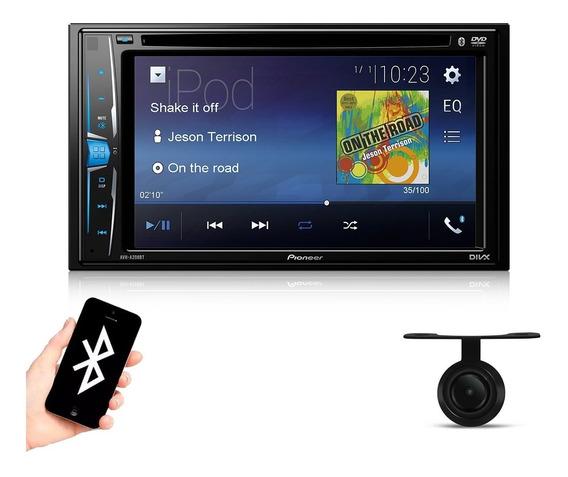 Central Multimídia Dvd Pioneer 2 Din + Tv Digital + Câmera