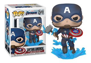 Funko Pop Captain America 573 Avengers Endgame Original - Mj