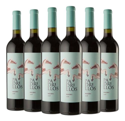 Imagen 1 de 1 de Vino Padrillos Malbec Caja 6x750 Distribución Oficial!!!