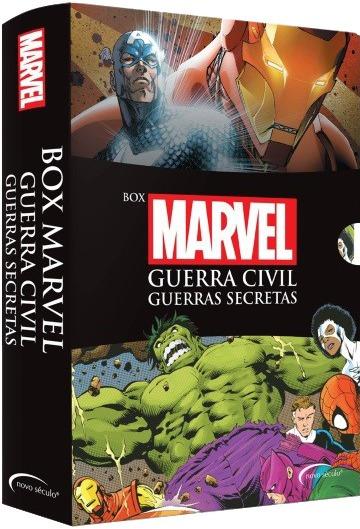 Box Marvel - 2 Livros + 1 Poster