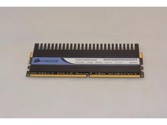 Memória Corsair Dominator 1gb Pc2-8500 Ddr2 1066mhz