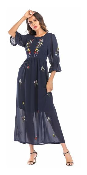 Vestido Largo Talles Grandes Importado Fiesta Selena69 Sy006